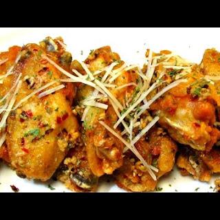 Spicy Garlic Chicken Wings Recipe