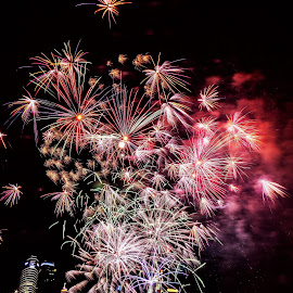 National Day Fireworks by Lye Danny - Abstract Fire & Fireworks (  )