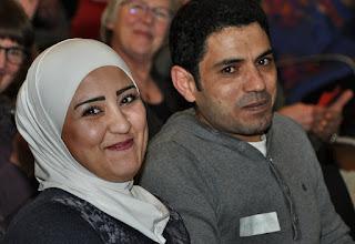 Photo: Zij maakten heel veel lekkere Palestijnse hapjes!