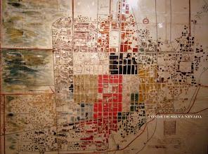 Photo: 1700 Mapa Jurisdicción Parroquias Arzobispado México. Museo Franz Mayer, S.XVIII