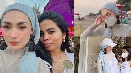 8 Potret Penampilan Imel Putri Cahyati Mantan Istri Sirajuddin Saat Liburan Banjir Kritikan, Berhijab Tapi Perlihatkan Aurat - KapanLagi.com