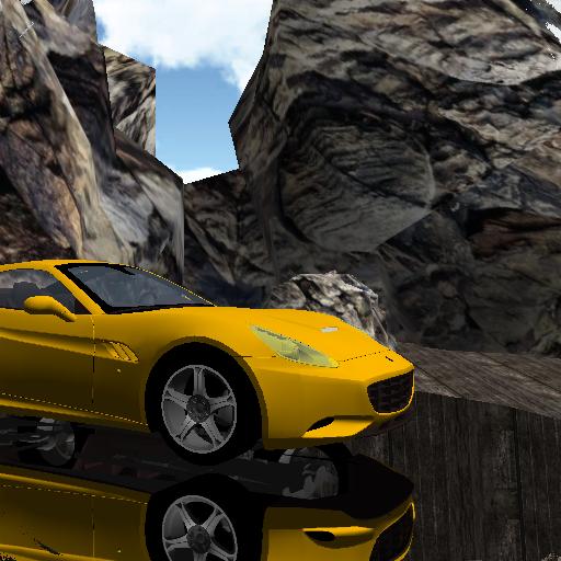 Hill Climb Car Stunts 3D