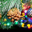 Macro Christmas Live Wallpaper icon