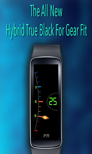 Gear Fit Hybrid True Black