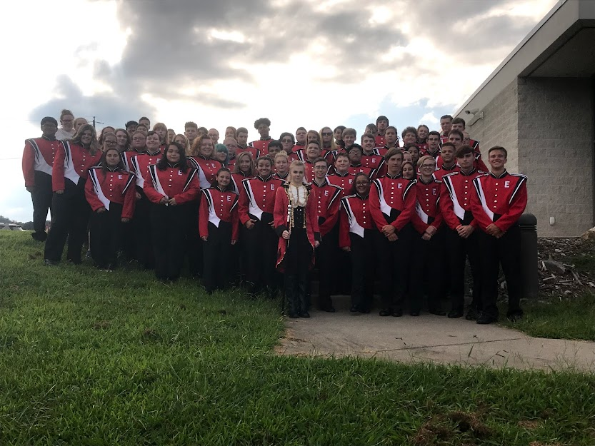2019 Marching Band Photo