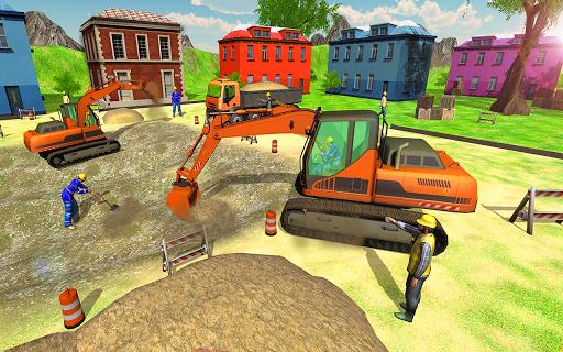 Heavy Excavator Simulator 2018 - Dump Truck Games screenshots 13