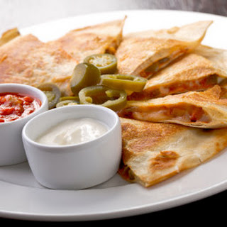 Spicy Beef Quesadillas.