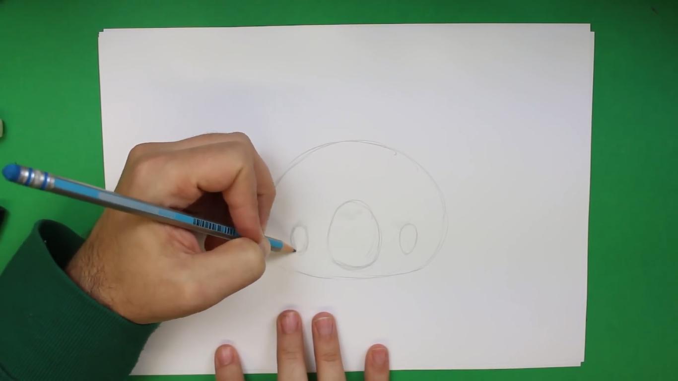 como dibujar un koala kawaii