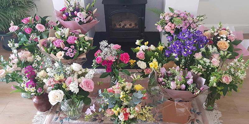 Flower bouquets shop