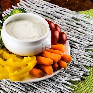Easy Dill Vegetable Dip.