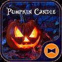 Halloween Wallpaper Pumpkin Candle Theme icon