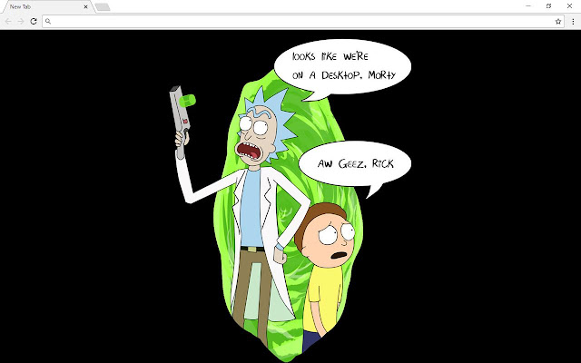 Rick And Morty New Tab & Themes