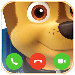 Video call from Paw chase Patrol