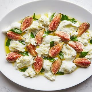 Fig Caprese Salad.
