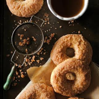 Baked Cinnamon and Sugar Doughnuts.