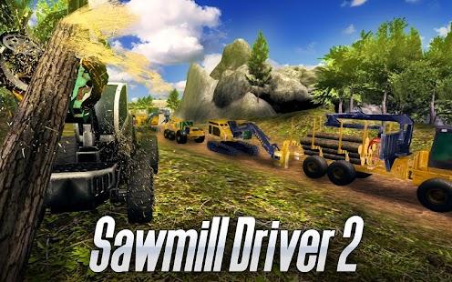 Sawmill Driver Simulator 2 - náhled