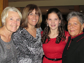 Photo: Humanitarian Awards Night Kylee and her grandmothers
