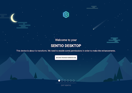 Sentio Desktop Screenshot
