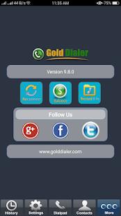 Gold Dialer - náhled