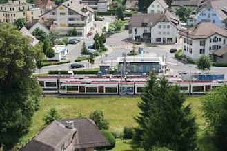 Photo: Verkehrsknotenpunkt Seon