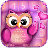 Cute Owl Keyboard Changer