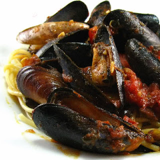 Mussels Fra Diavola.
