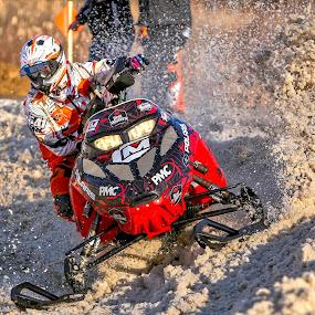 by Kenton Knutson - Sports & Fitness Motorsports ( snocross, racing, snow,  )