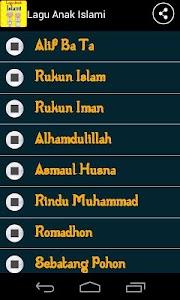 Lagu Anak Muslim screenshot 0