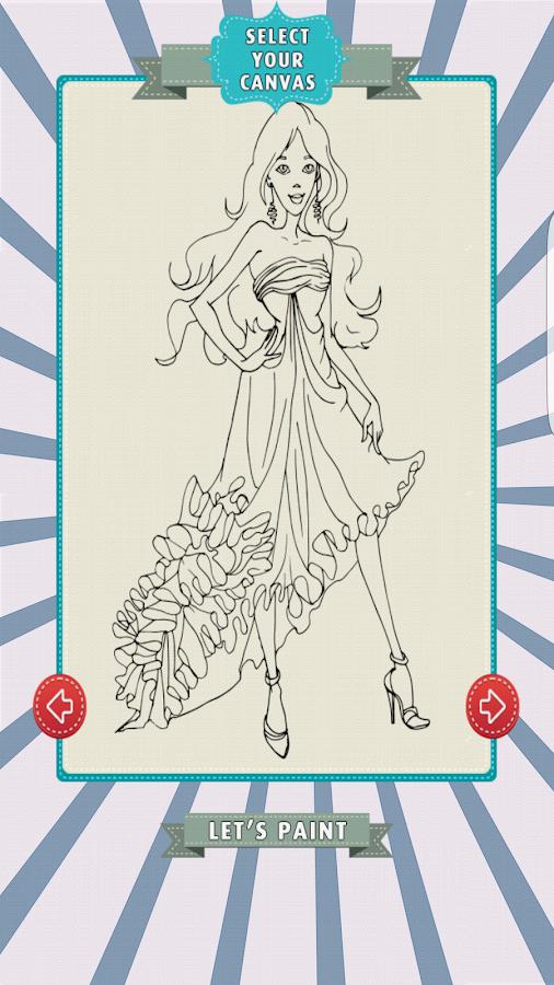 Princess Cinderella Coloring Screenshot