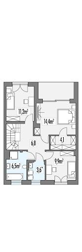 Ania segment - Rzut piętra