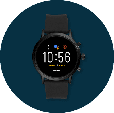 Montre Android dotée de Wear OS by Google