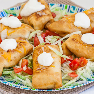 Chicken Chimichangas.