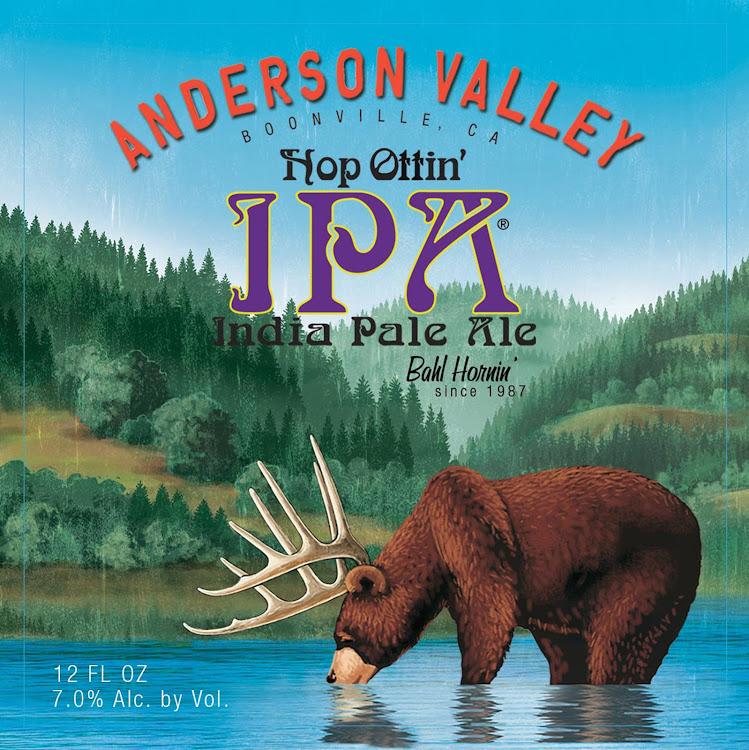 Logo of Anderson Valley Hop Ottin' IPA