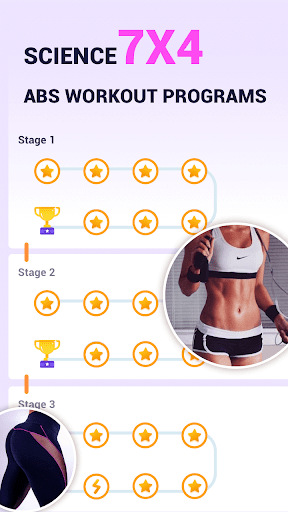 ABS Workout - 7 Minute Women Free Workout