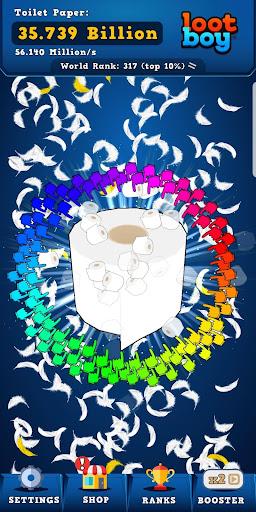 Télécharger Toilet Paper Clicker - Infinite Idle Game APK MOD 2