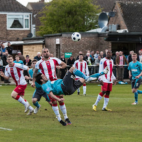 Brackley Vs Altrincham by Michael Ripley - Sports & Fitness Soccer/Association football ( altrincham, playoff, football, non league, soccer )