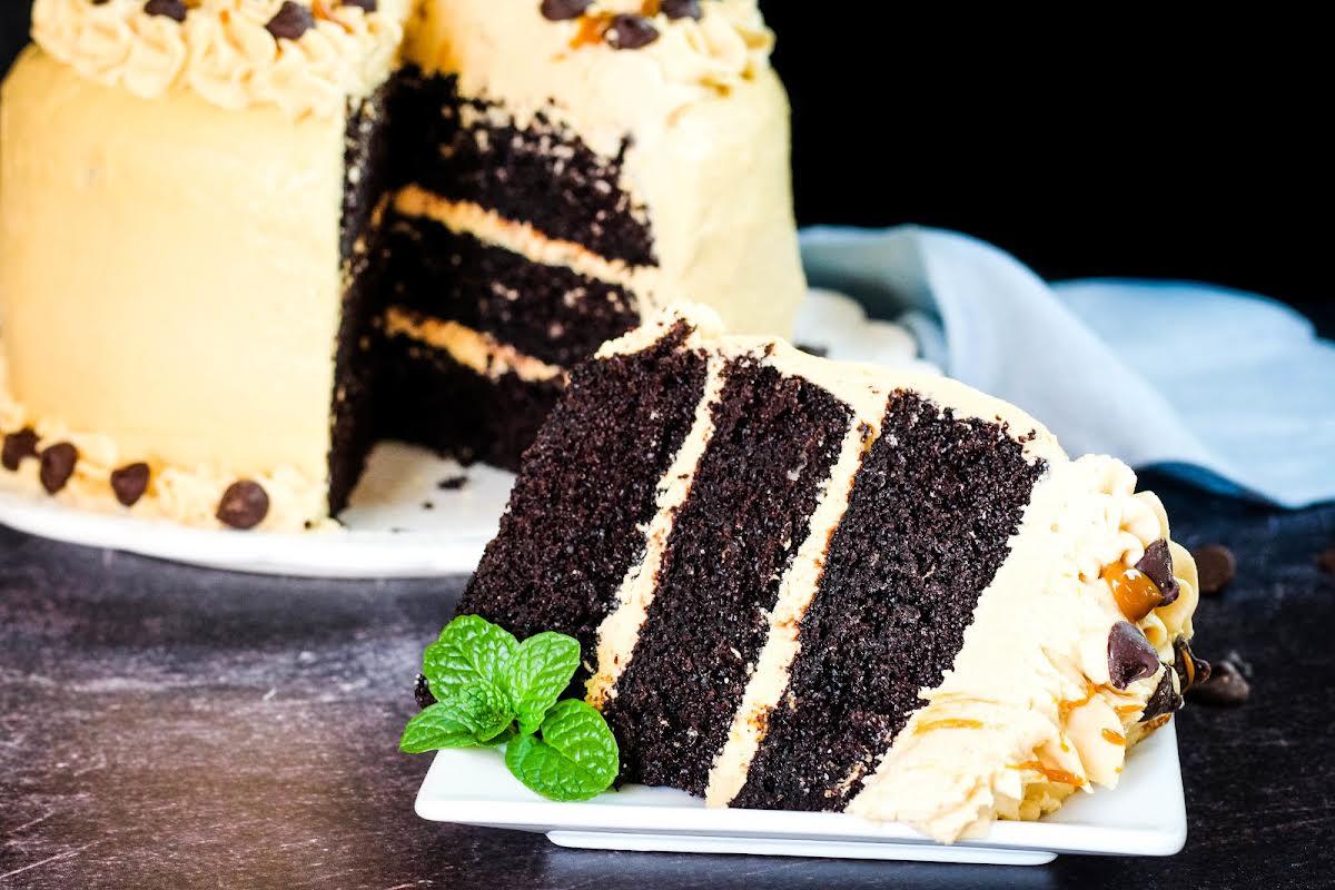 Cubano Espresso Dark Chocolate Cake