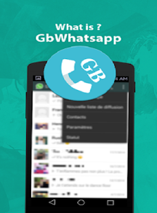 GBwhatsaap messenger & chat tutoriel - náhled