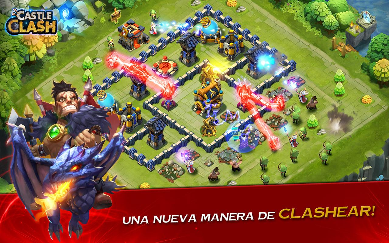 Screenshots of Castle Clash: Era de Bestias for iPhone