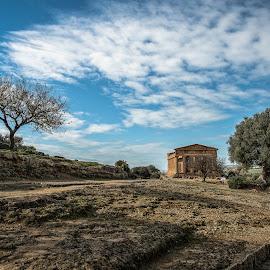 Valle dei Templi - Agrigento by Antonello Madau - City,  Street & Park  Historic Districts