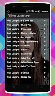 Avril Lavigne Songs - náhled