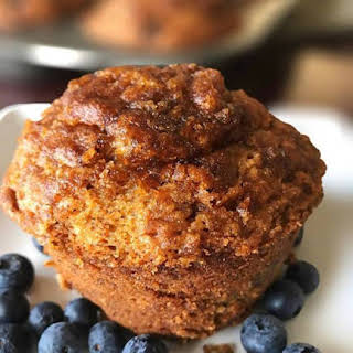 Dairy-Free Banana Nut Blueberry Muffins from Kitchen Gone Rogue.