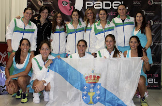Photo: Selección #pádel Galicia