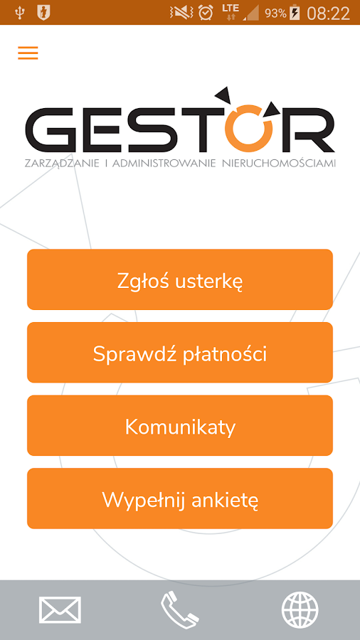 Gestor- screenshot
