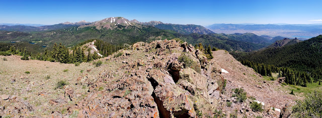 City Creek Peak panorama