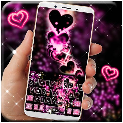 Sparkling Love Keyboard Theme Icon