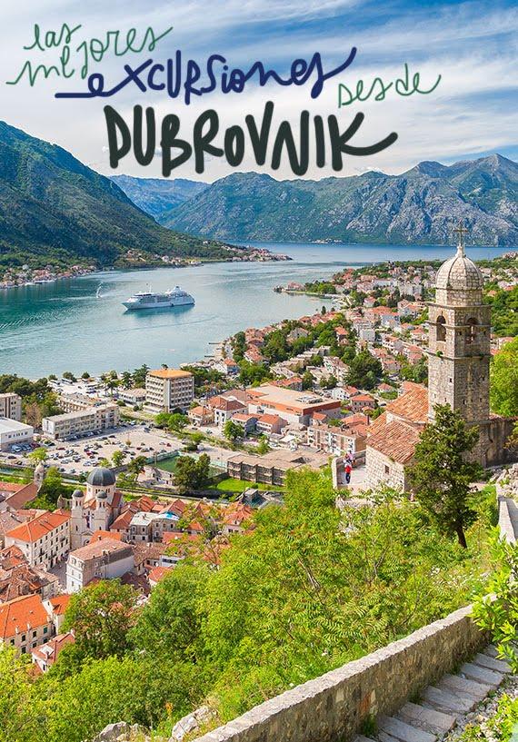 escapadas y excursiones desde Dubrovnik