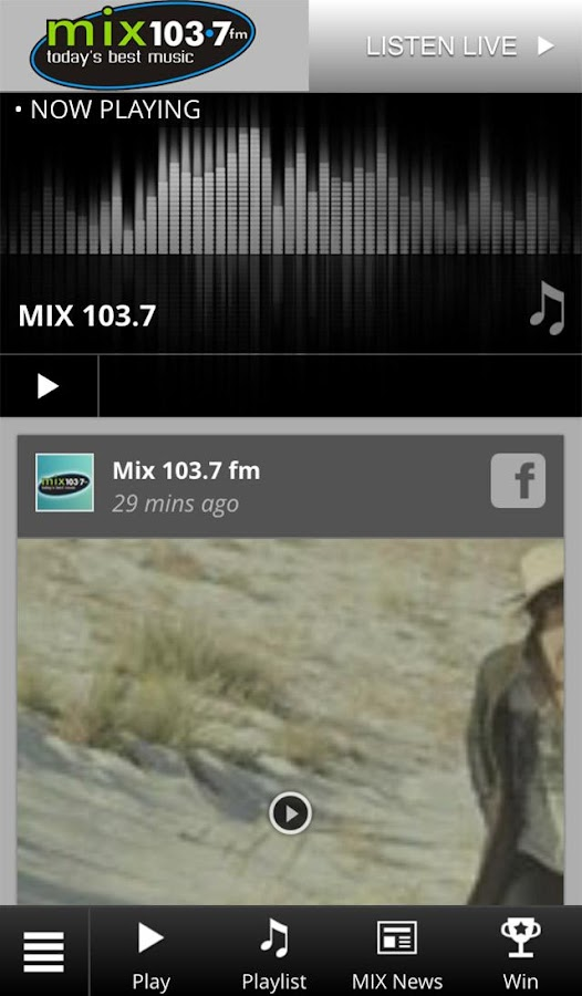 Mix 103.7 Today's Best Music- screenshot
