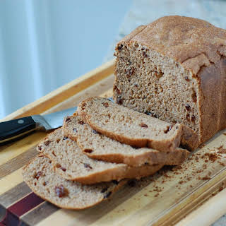 Whole-Wheat Cinnamon Raisin Bread (for Bread Machine).