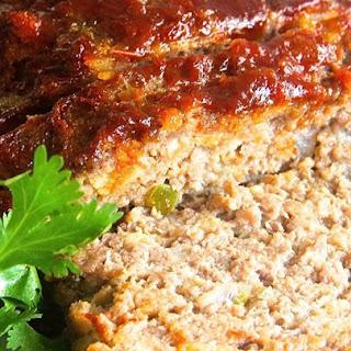 Brown Sugar Meatloaf with Ketchup Glaze.